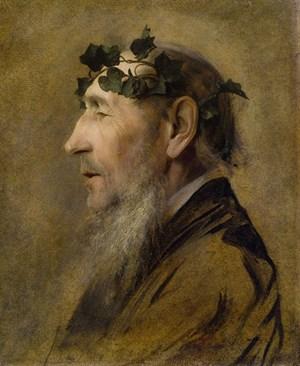 """Klimt: Gustav (""""Porträt eines Alten"""") ..."""