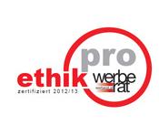 """Das neue """"Pro-Ethik-Siegel"""" des Werberats."""