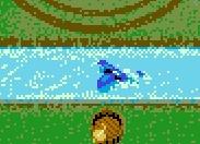 ..aber auch die Gefahr, dass der Scorer von einem Hai oder Sumpfmonster vertilgt wird.