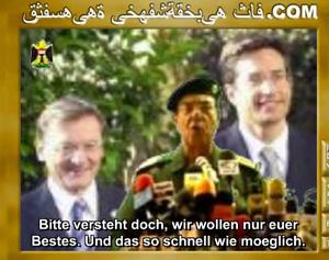 Auch österreichische Politiker bekommen ihr Fett ab