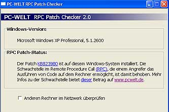 PC-Welt RPC Patch Checker