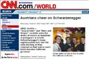 """Austrians cheer on Schwarzenegger"""