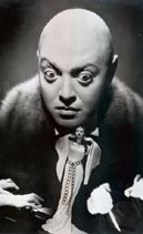 Peter Lorre in  Mad Love  / The Hands of Orlac  von Karl Freund