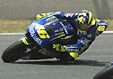 Rossi in Bestform.