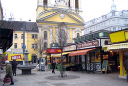 Zentrum des 3. Bezirks: Die Gegend rund um den Rochusmarkt