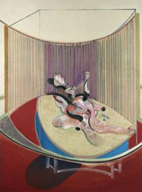 """Version No. 2 of Lying Figure With Hypodermic Syringe"" von Francis Bacon"