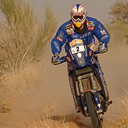 Cyril Despres bei der Paris Dakar 2007