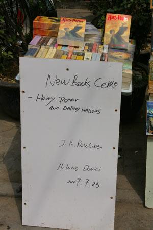 Harry Potter als sauberes Taschenbuch - Quelle:DerStandard.at