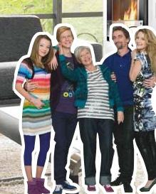 Neue oma f r die familie putz etats kampagnen for Mobelhaus lutz