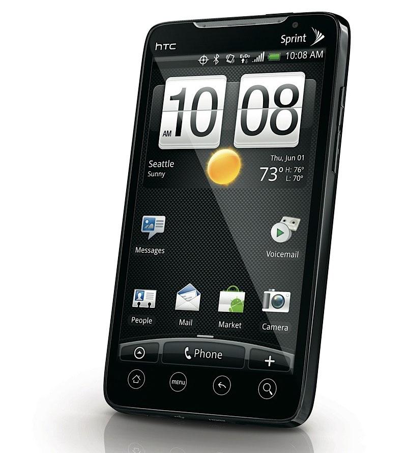 Htc evo 4g android superphone mit wimax vorgestellt