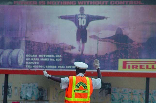 Mosambik - ein spontanes Fußballportrait