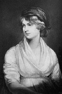 Mary Wollstonecraft (1759-1797): So muss man sich die Heroinnen der Jane-Austen-Romane vorstellen: klug und empfindsam ...