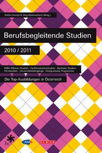 Buchtipp: Berufsbegleitende Studien 2010/11Stefan Humpl, Jörg Markowitsch (Hrsg.)204 SeitenISBN: 978-3-902277-25-1