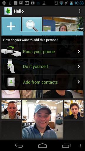 """Evernote Hello"" für Android"
