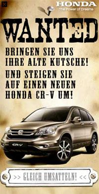 """Eine etat.at-Maus für die """"Umsattelprämie"""": Honda gewinnt im Mai"""