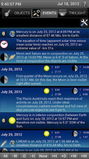 """Für diejenigen, die mehr als den Namen des Sterns wissen wollen, eignet sich """"Mobile Observatory"""" hervorragend"""