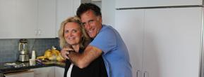 Mitt Romney und Ehefrau Ann in den Ferien in La Jolla.