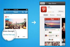 Twitter zeigt Vorschau zu Apps, Online-Shops und Bildgalerien