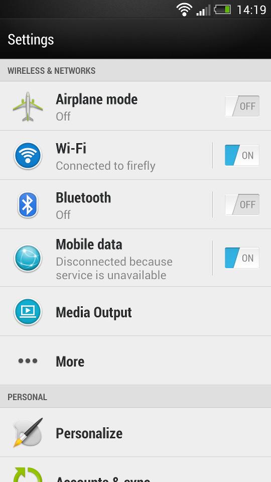 Отладка по usb android 2