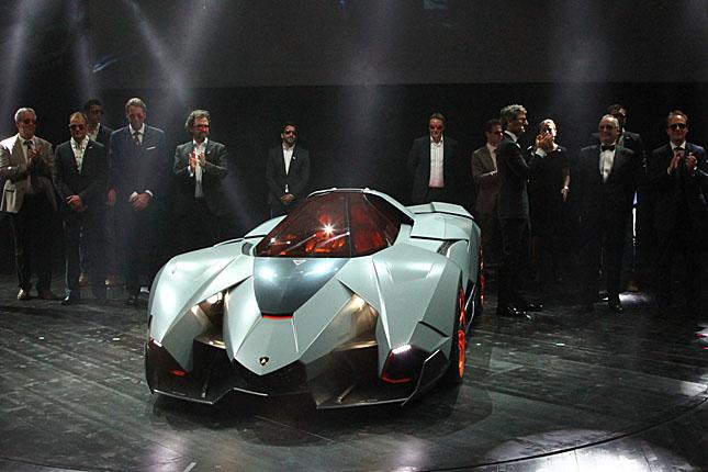 2013 Lamborghini Egoista Concept.