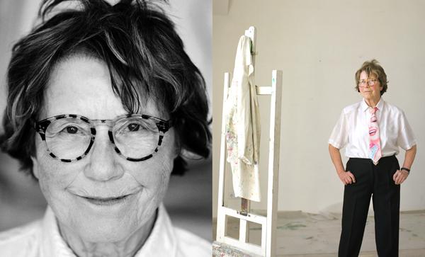 "foto: bettina flitner. Doppelporträt: Maria Lassnig. "" - 1369362672485-Maria-Lassnig-Doppelportrai"