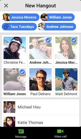 Auch sonst gibt es an Android- und iOS-App wenig auszusetzen. Umgewöhnen heißt es hingegen für frühere Google-Talk-NutzerInnen bei der Sortierung der Kontakte.