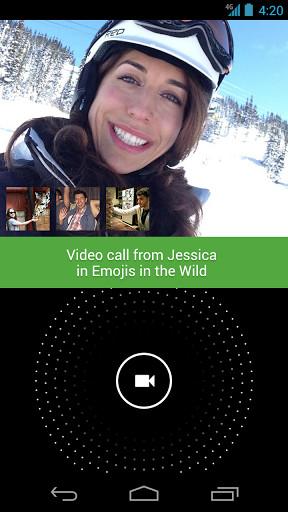 """Ein echtes Highlights der """"Hangouts"""" ist der Video-Chat mit bis zu 10 Personen."""