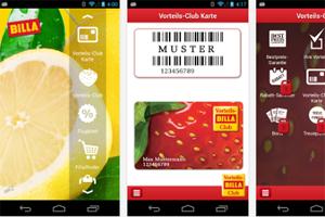 nocard aus f r fremde kundenkarten apps bei billa und bipa online handel web. Black Bedroom Furniture Sets. Home Design Ideas