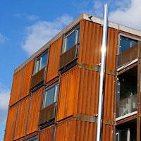 platz f r 400 studenten im containerheim wien. Black Bedroom Furniture Sets. Home Design Ideas