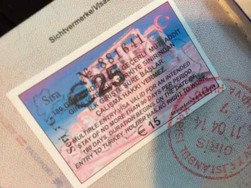 Wer braucht ein visum fur die turkei