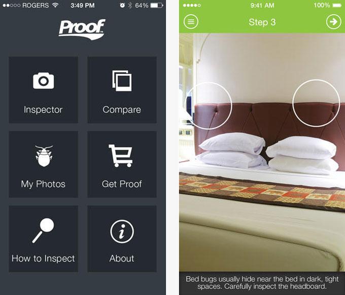urlaubs apps reisen und bettwanzen finden mit app hilfe apps web. Black Bedroom Furniture Sets. Home Design Ideas