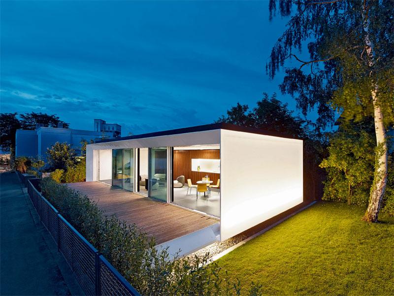 Ein haus als gast in der siedlung architektur stadt for Haus bauen stuttgart