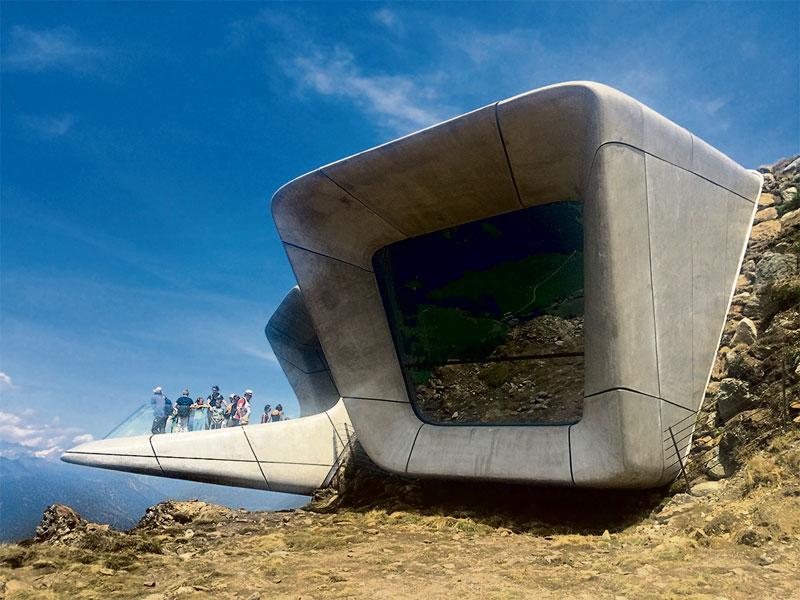 messner mountain museum gipfeltreffen der giganten architektur stadt. Black Bedroom Furniture Sets. Home Design Ideas