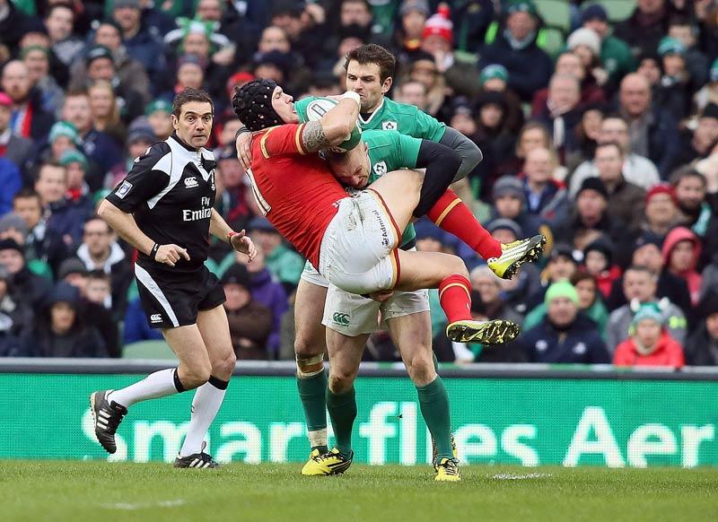 Patt der favoriten kein sieger bei irland vs wales for Interieur sport rugby