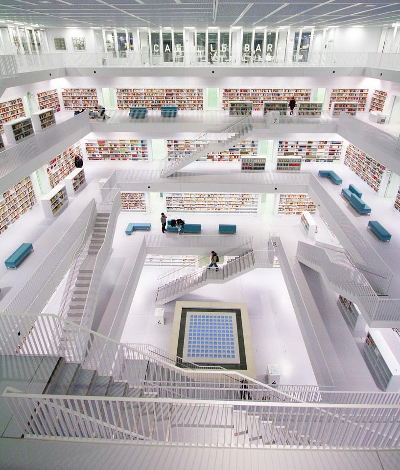 Die beeindruckendsten bibliotheken der moderne architektur stadt immobilien - Moderne bibliotheek ...