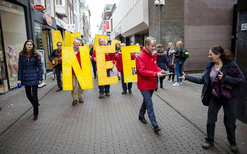 """Жители Нидерландов сказали """"нет"""" ассоциации Украины и Евросоюза Nee2"""