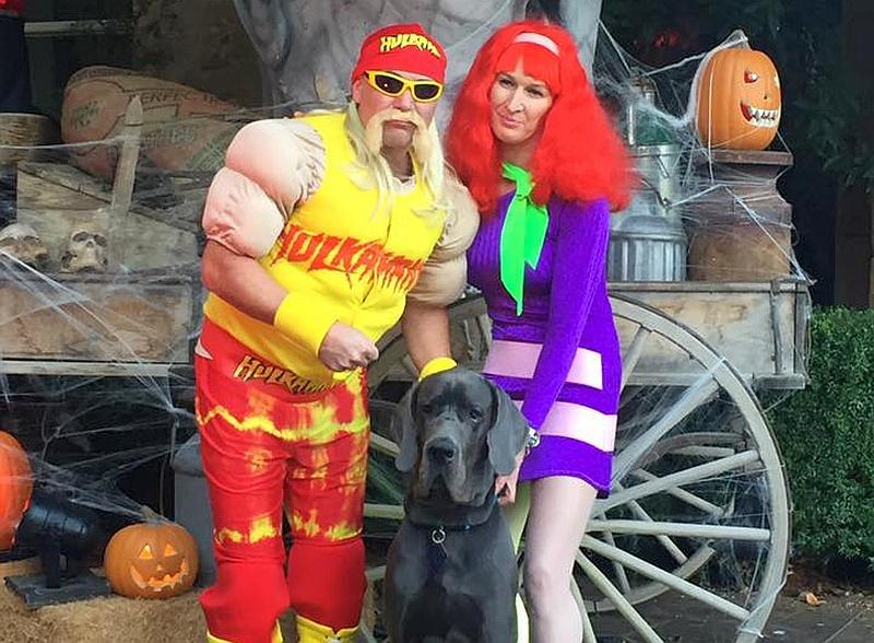 Ex-Tennis-Stars Graf und Agassi verzücken Facebook-Fans mit Halloweenkostümen