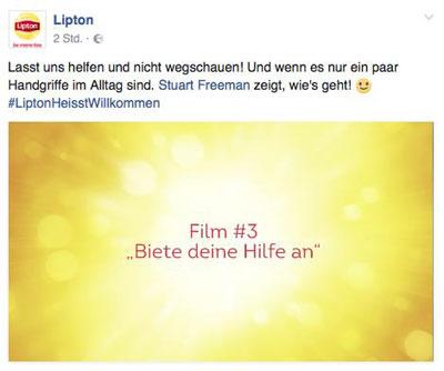 LiptonFacebook