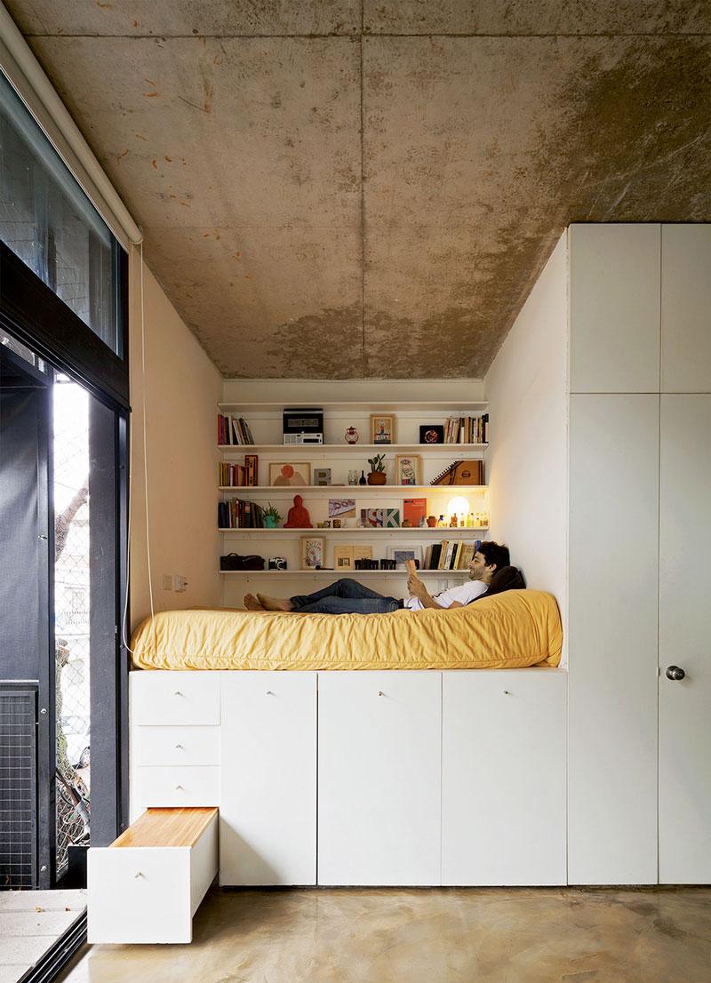 weniger quadratmeter: neue ideen für wohnen auf kleinem raum, Gartengerate ideen