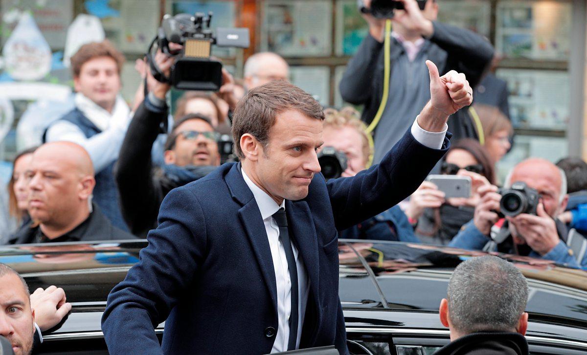 Präsidentschaftswahlen in Frankreich: Emmanuel Macron klar in Führung – Marine Le Pen auf Platz zwei