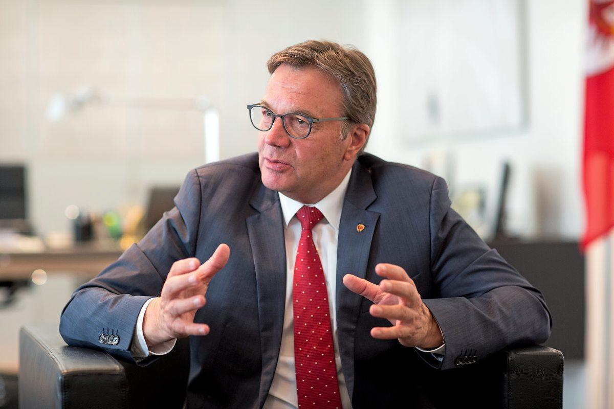Tirols Landeschef Platter wirft FPÖ