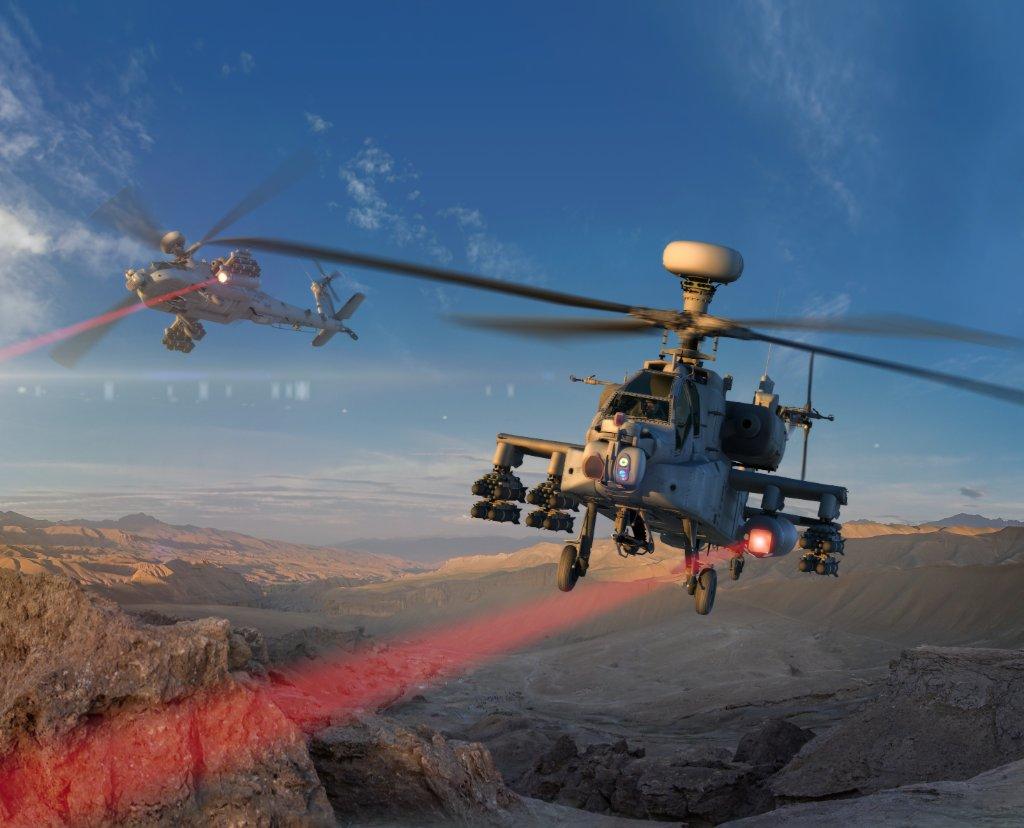US Army testet erfolgreich Laserwaffe auf Helikopter