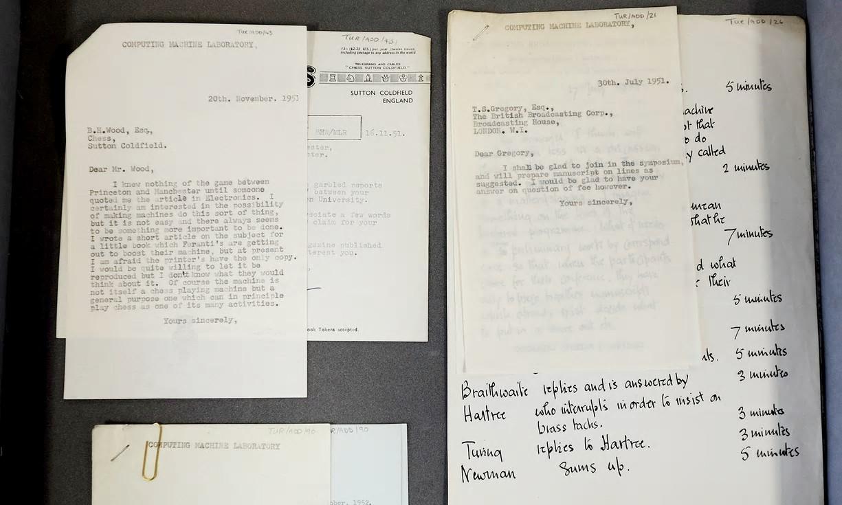 Briefe Von Sterbenden : Briefe von informatik genius alan turing entdeckt