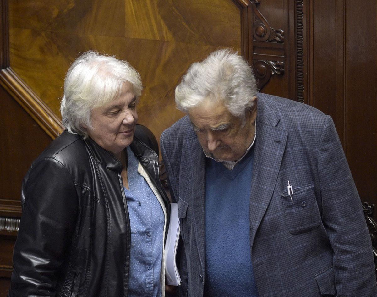 "Lucia Topolansky mit Gatte Jose ""Pepe"" Mujica"