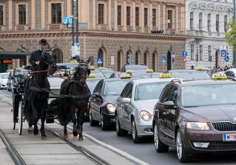uber taxi in wien