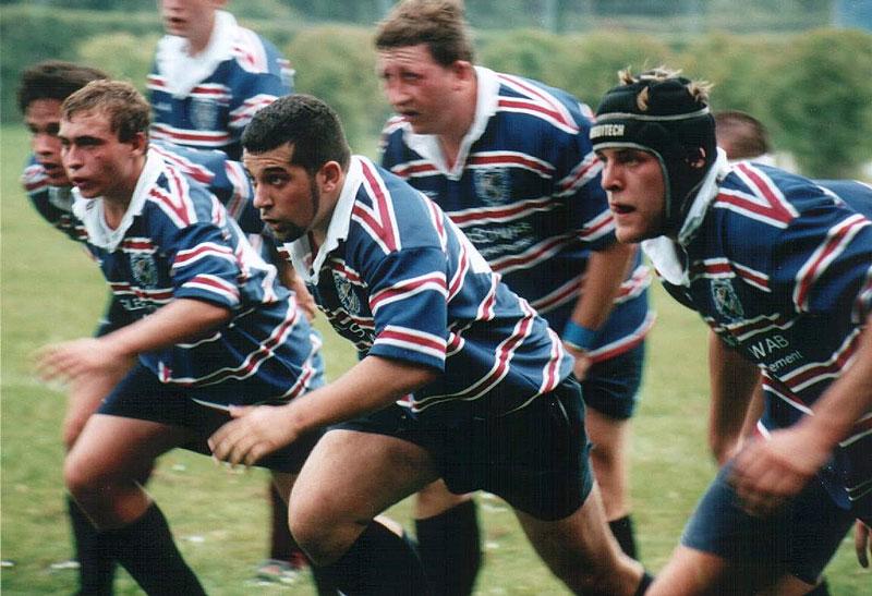 Rugby der hamster bleibt hungrig rugby for Interieur sport rugby