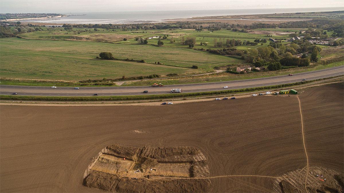 Cäsars Lager in Britannien entdeckt