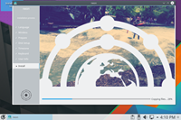 screenshot: kde neon