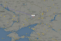 foto: screenshot/flightradar24