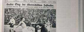 """faksimile aus anton holzers """"rasende reporter"""" (primus-verlag)"""